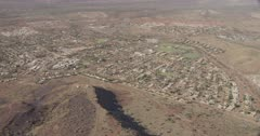 Aerial view of the Newman township in Western Australia