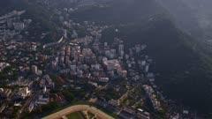 Flying over Rio de Janeiro, Brazil