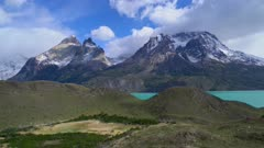 Turquoise Lake and mountains