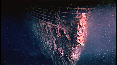 The 100 Year Anniversary of the Titanic: Stock Video Footage of the Shipwreck and Artifacts//video.naturefootage.com/demos/naturefootage/stills/SH-Titanic-Demo-Still-Q4.jpg