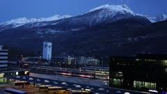 Switzerland Train Station
