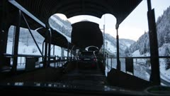 Driving Through Narrow Bridge