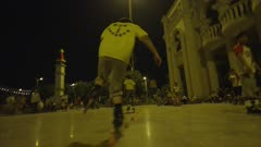 POV: Man Rollerblading