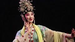 Woman Performs in Beijing Opera