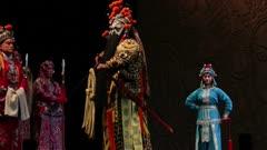 Man performs in Beijing Opera