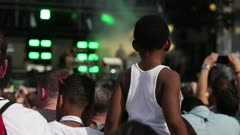 kid at concert