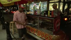 Hot Dog vendor
