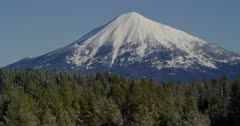 Snow-capped Mt. Mcloughlin near Medford, Oregon