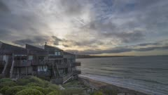 sunset near Monterey, ca