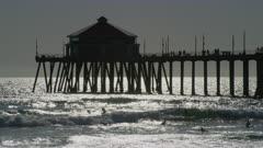 Scenic view of Huntington Beach Pier, California