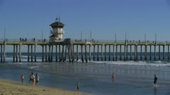 Scenic view of Huntington Beach Pier, California