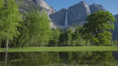 Time Lapse of Yosemite Falls
