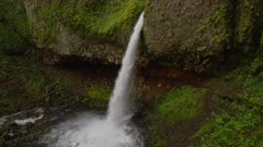 Lower Horsetail Falls in the Columbia River Gorge