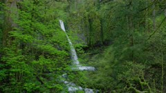 Upper Horsetail Falls in the Columbia River Gorge