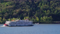 River boat on the Columbia River