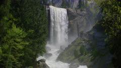 Scenic view of Vernal Falls