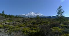 Scenic view of Mt Shasta, California