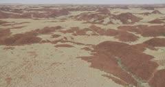 Flying low near the Chichester Range, Pilbara, Western Australia
