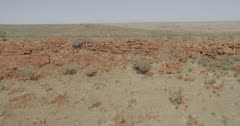 Aerial view of the Chichester Range and Hamersley Range, Pilbara, Western Australia