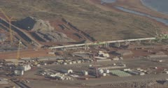 Onslow salt mining, Western Australia