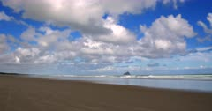 Ninety Mile beach at low tide