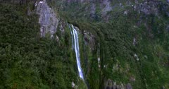 Stirling falls, at Milford Sound