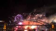 the sydney new years eve 2014 fireworks filmed in 4K