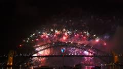 the sydney nye fireworks 2014 filmed in 4K