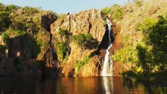 wangi waterfalls in litchfield national park near kakadu