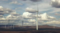 the wild horse wind farm in eastern washington