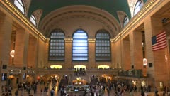 interior of grand central station in new york, usa