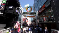 an afternoon view of crowds on takeshita street in harajuku district of tokyo japan