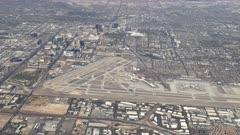 an aerial view of mccarran airport in las vegas, nevada