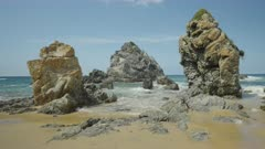 rock formations at camel rock near bermagui on the nsw south coast of australia