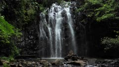 Ellinjaa Waterfalls. slowmotion