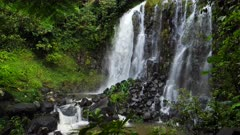 Mungalli Waterfall, pan/tilt, slowmotion