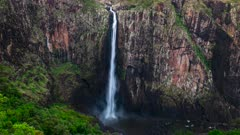 Wallaman Falls, tallest Australia's Waterfalls, Time Lapse