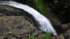 Natural Bridge Waterfalls, slow-motion