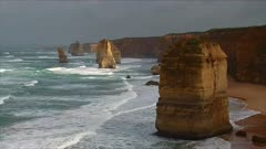The 12 Apostles, Great Ocean Road, morning, closer