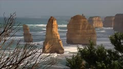 The 12 Apostles, Great Ocean Road, morning, closer, stacks, zoom