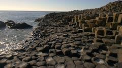 Giant´s causeway basalitic lava columns, Antrim Ireland