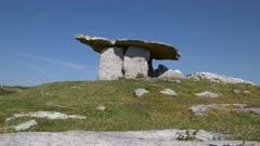 Poulnabrone dolmen slider move, Donegal Ireland
