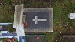 Aerial Drone - Quicavi graveyard