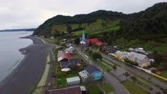 Aerial Drone - Town of Tenaun