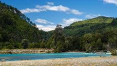 Time lapse - Puelo river
