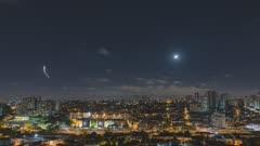 Night time lapse. Sao Paulo, Brazil