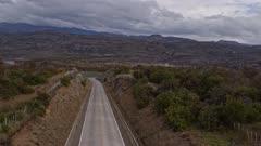 Aerial Drone 4k - Villa Cerro Castillo