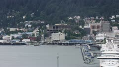 7k and 8k aerials of Juneau in Southeast Alaska