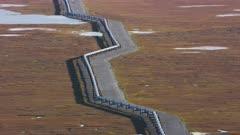 Trans-Alaska Pipeline on Alaska's North Slope