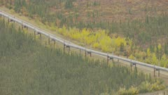 Trans-Alaska Pipeline in Gates of the Arctic National Park and Preserve
